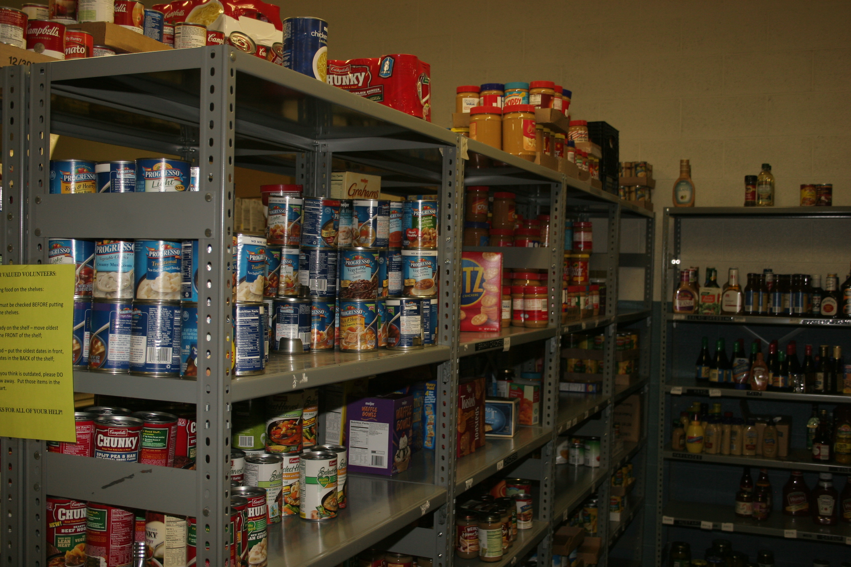 Food Pantry Love In the Name of Christ