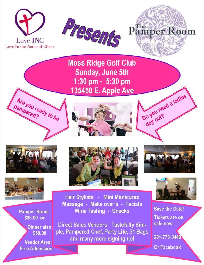 Pamper Room Flyer